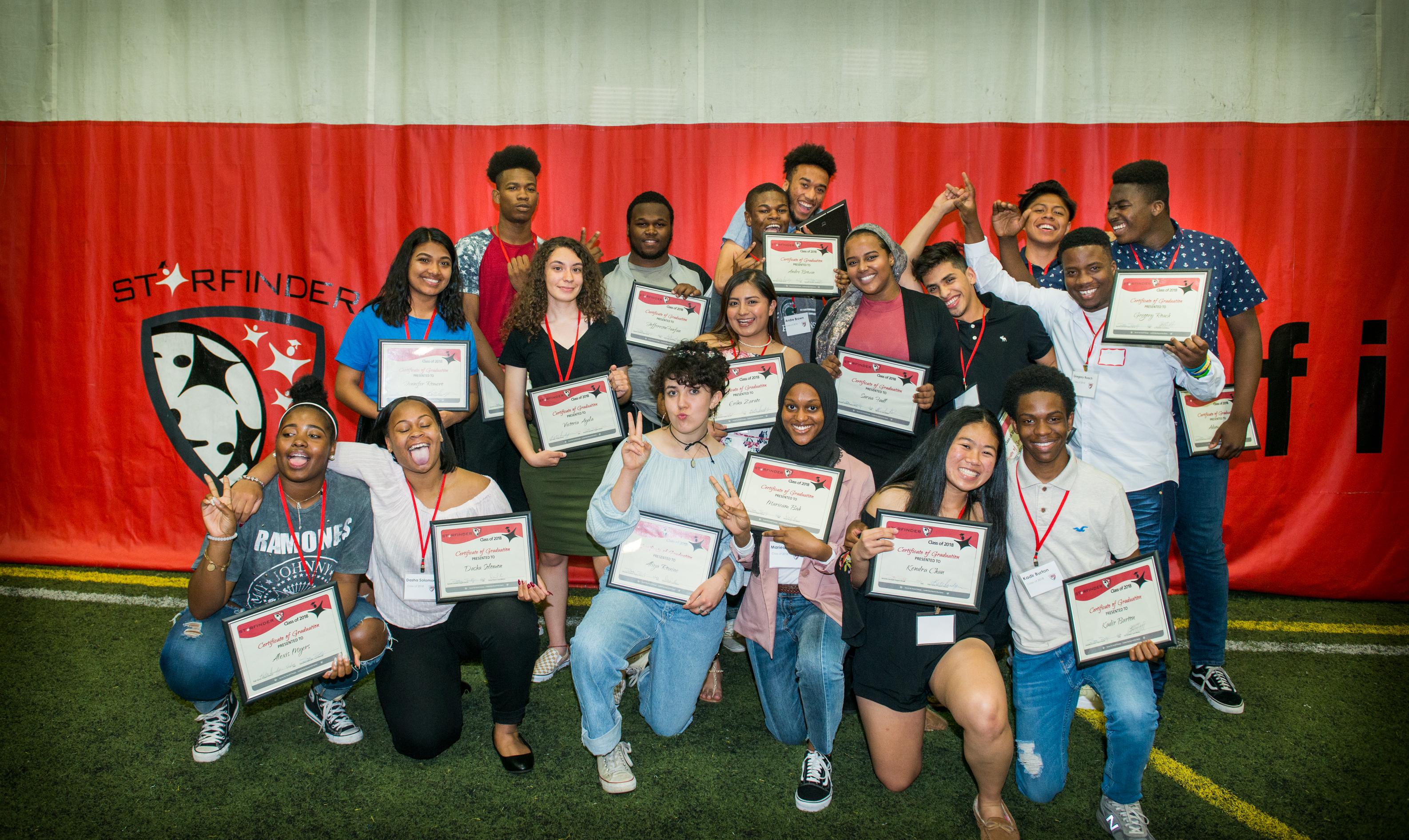 2018 graduation celebration starfinder foundation